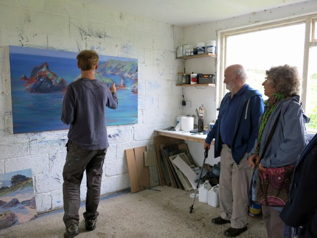 Artist Paul Lewin explains his process to us.