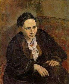 Portrait of Gertrude Stein, Pablo Picasso, 1906 (Metropolitan Museum of Art)