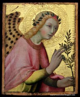 Sano di Pietro, Annunciation Angel