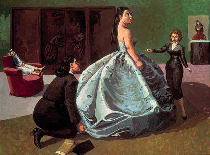 Paula Rego, The Fitting, 1989 (The Saatchi Gallery)