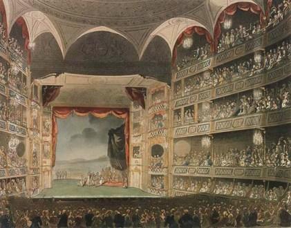Drury Lane Theatre, John Bluck, 1808