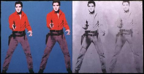 Elvis I & II, Andy Warhol, 1963