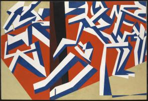 The Mud Bath 1914 David Bomberg 1890-1957 Purchased 1964 http://www.tate.org.uk/art/work/T00656