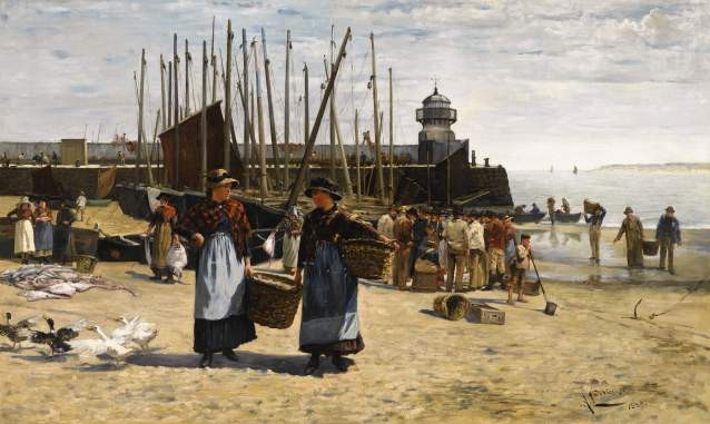Tovey  Ludovici - Fish Sale, St Ives main.jpg
